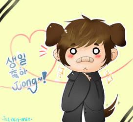 Happy birthday JJong by agitaeted-bunny
