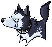 Emlan's Hisagi Dog SD by MIZZKIE