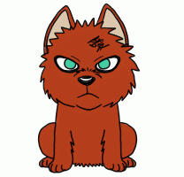 Gaara Pup Animation by MIZZKIE