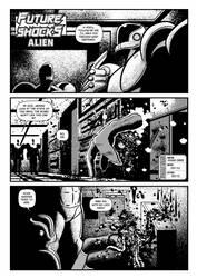 Future Shocks: Alien Page 1