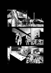 Sci-fi horror comic page 3