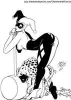 Harley Quinn:  Laughing Matter by Heavensrun