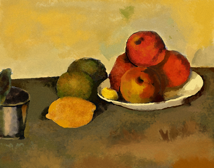 Still Life - Apples Homage by Unfoolery