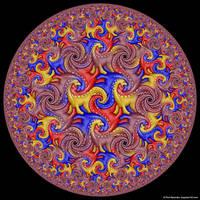 Hyperbolic Tessellation by bugman123