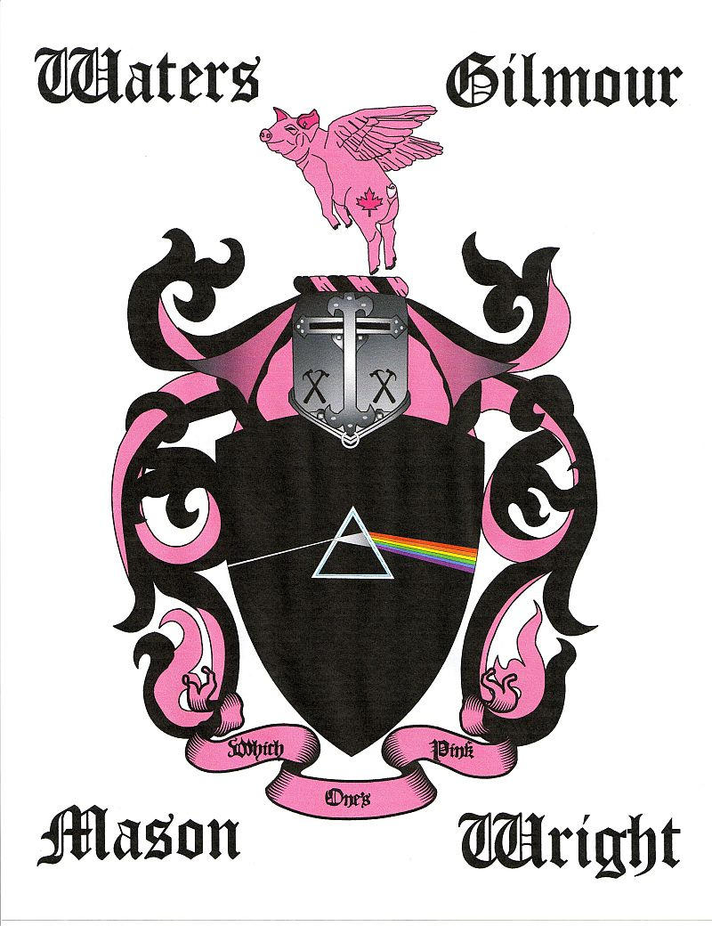 Pink Floyd Coat of Arms by jdlr64