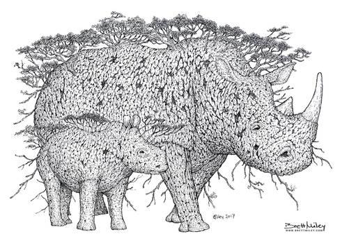 Tree Rhinos