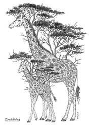 Tree Giraffes