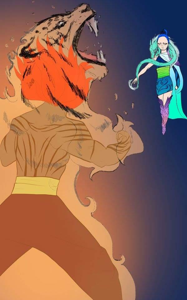 Tiger vs Dragon. by ILOVEJIMHAWKINS