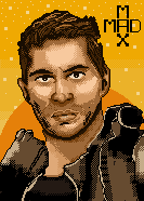 Pixel Art proyect. Tom Hardy by Marce3
