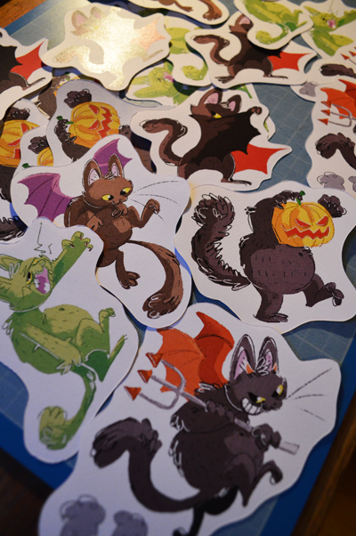 Halloween stickers for sale