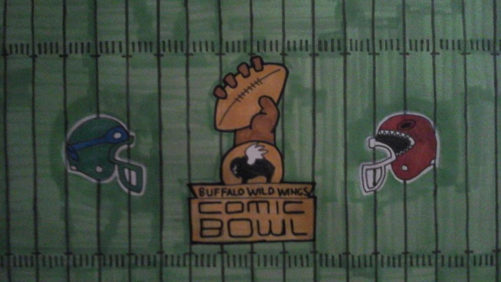 Comic Bowl Midfield detail by NeoPrankster