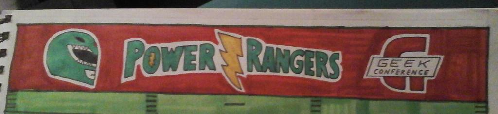 Power Rangers End Zone detail by NeoPrankster