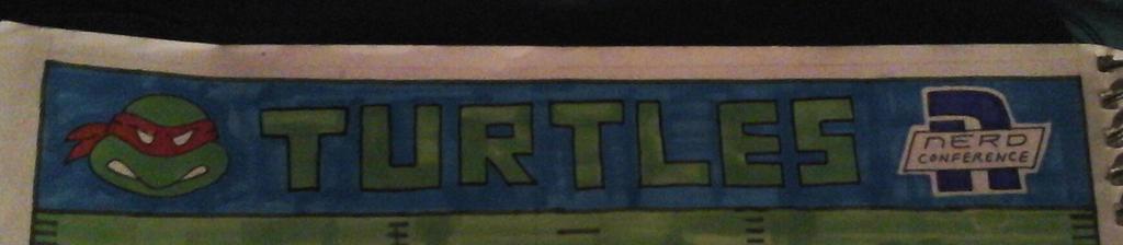 Ninja Turtles end zone detail by NeoPrankster