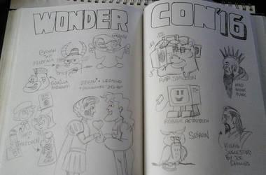 Sketchbook goodies by NeoPrankster