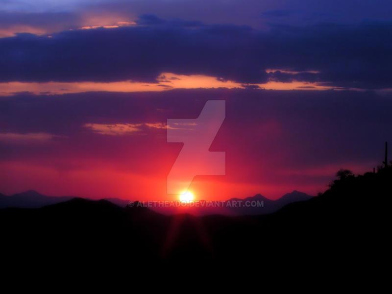 Arizona Sunset XXIX by AletheaDo