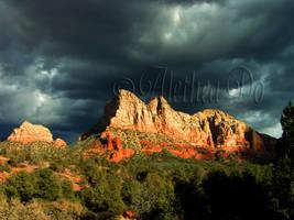 Stormy Sedona by AletheaDo