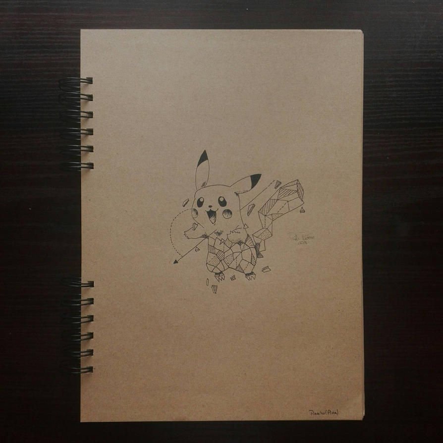Pikachu by artbypaula