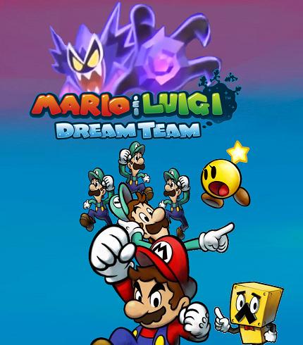 Mario And Luigi Dream Team Custom Poster By Ericgl1996 On Deviantart