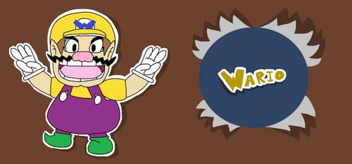 I'ma Paper Wario, I'ma gonna win!