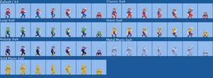 Custom Odyssey Weird Mario Costume Sprites