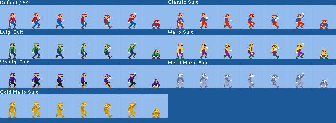 Custom Odyssey Weird Mario Costume Sprites By Ericgl1996 On Deviantart