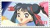 Cardcaptor Sakura - Meiling Li Fan Stamp by ericgl1996