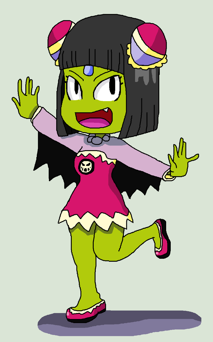 What if Cackletta had a daughter (Concept design) by ericgl1996