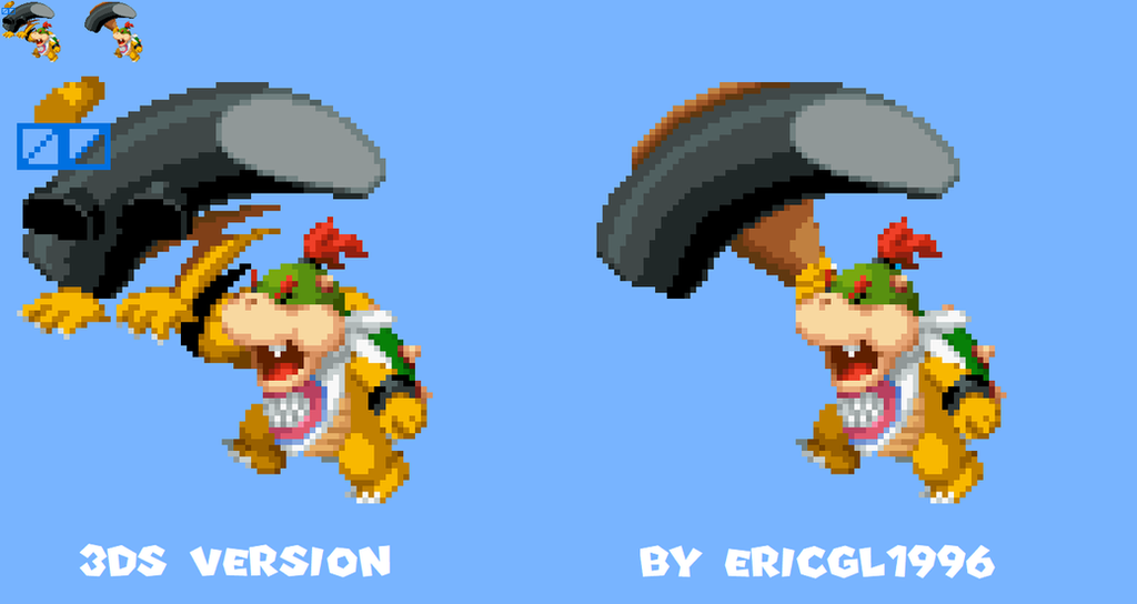 Bowser Jr.'s Hammer Attack Has Now Been Fixed by ericgl1996