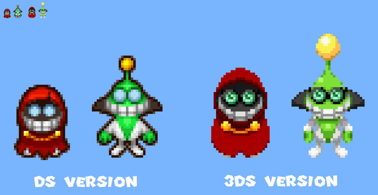 Partners In Time Fawful Sprites Ml3ds Style By Ericgl1996 On