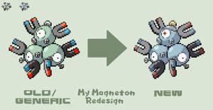 My Magneton Redesign