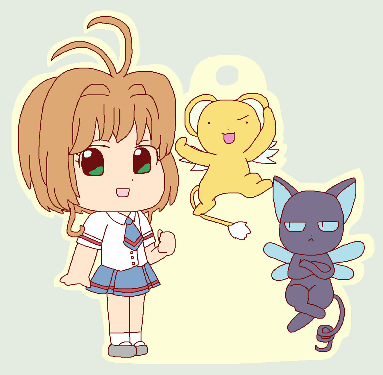 Kero-chan and Suppi-chan