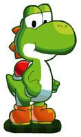 Yoshi (Mario and Luigi 6 artwork)