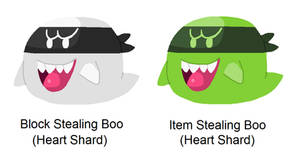 Block Stealing Boo and Item Stealing Boo (MLRPG 6)
