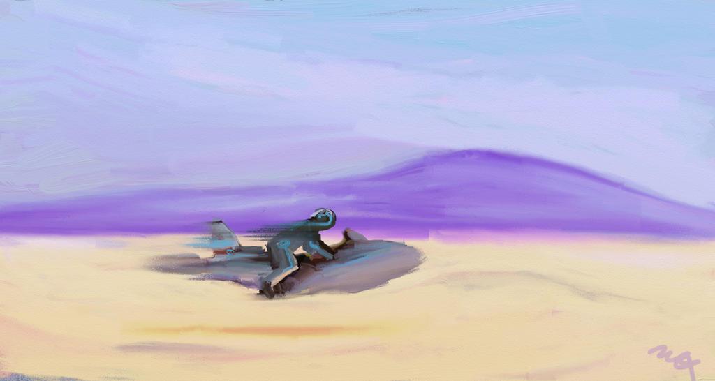 Desert Racer by mlxshizzle