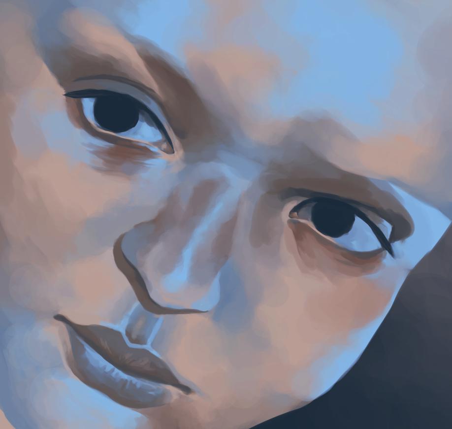 Blue February by theterribledisaster