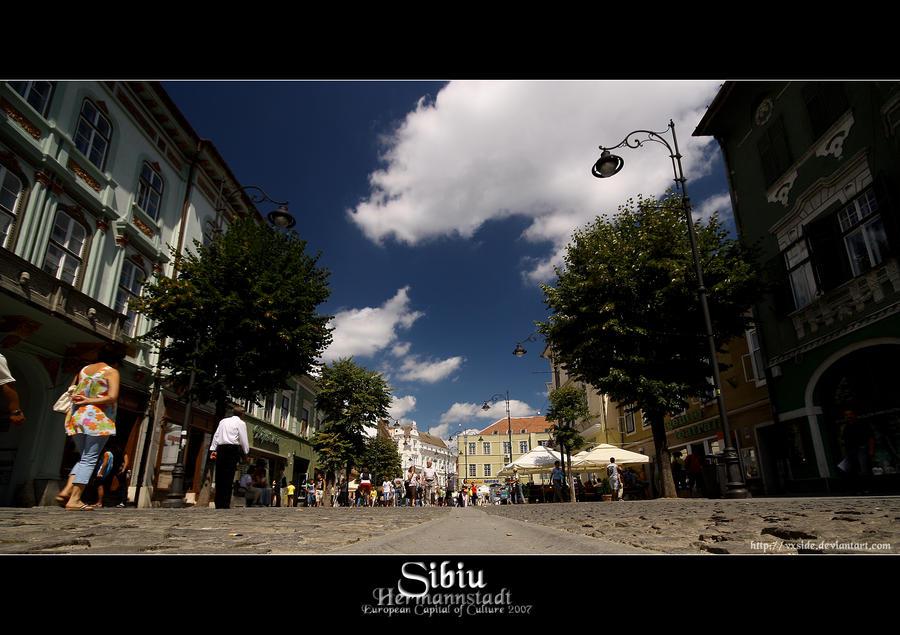 Sibiu - Hermannstadt by vxside