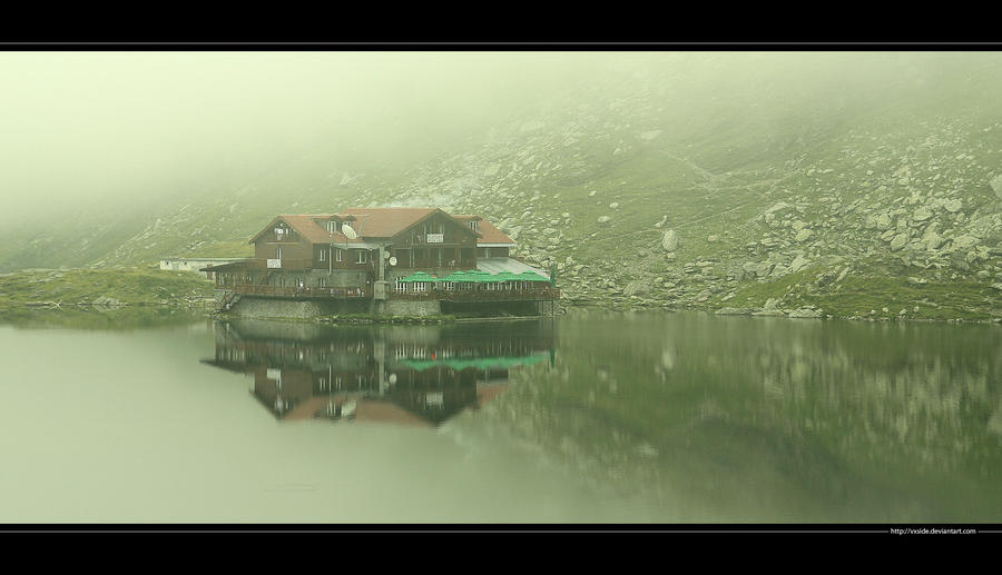 Mists over The Balea Lake
