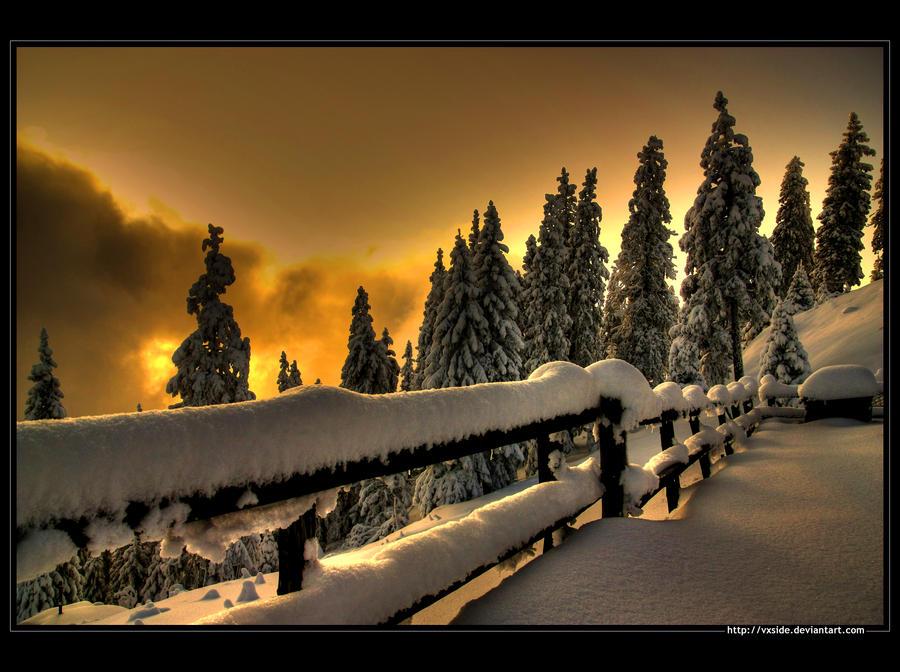 Добрите hdr зимни фотографии в deviantart i