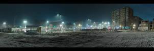 Snowy night - 360 Pano RAW
