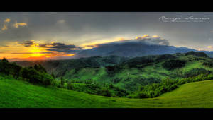 Bucegi Sunrise - HDR
