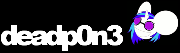 deadp0n-3 Logo by SkrillexIsMahLife