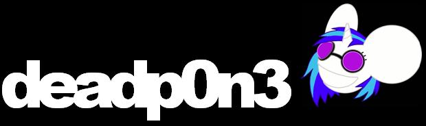 deadp0n-3 Logo by SkrillexIsMahLife