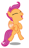 Scootaloo needs to practice more.