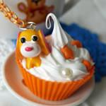 Ocha Ken cupcake Necklace