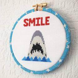 Smile-shark-cross-stitch-1-glamasaurus