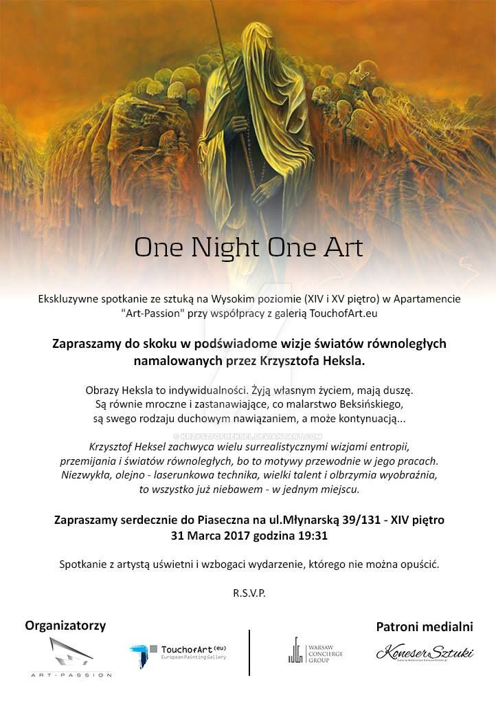 One Night One Art by KrzysztofHeksel