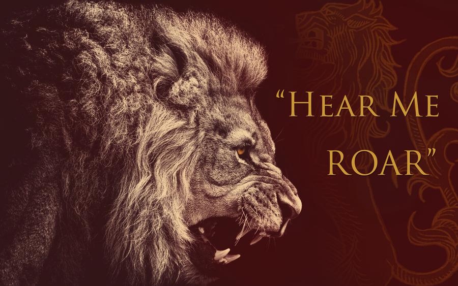 Lannister - Hear me Roar - 1920x1200 by GrimHrakkar