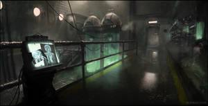 Underwater Research Facility by Veshkau