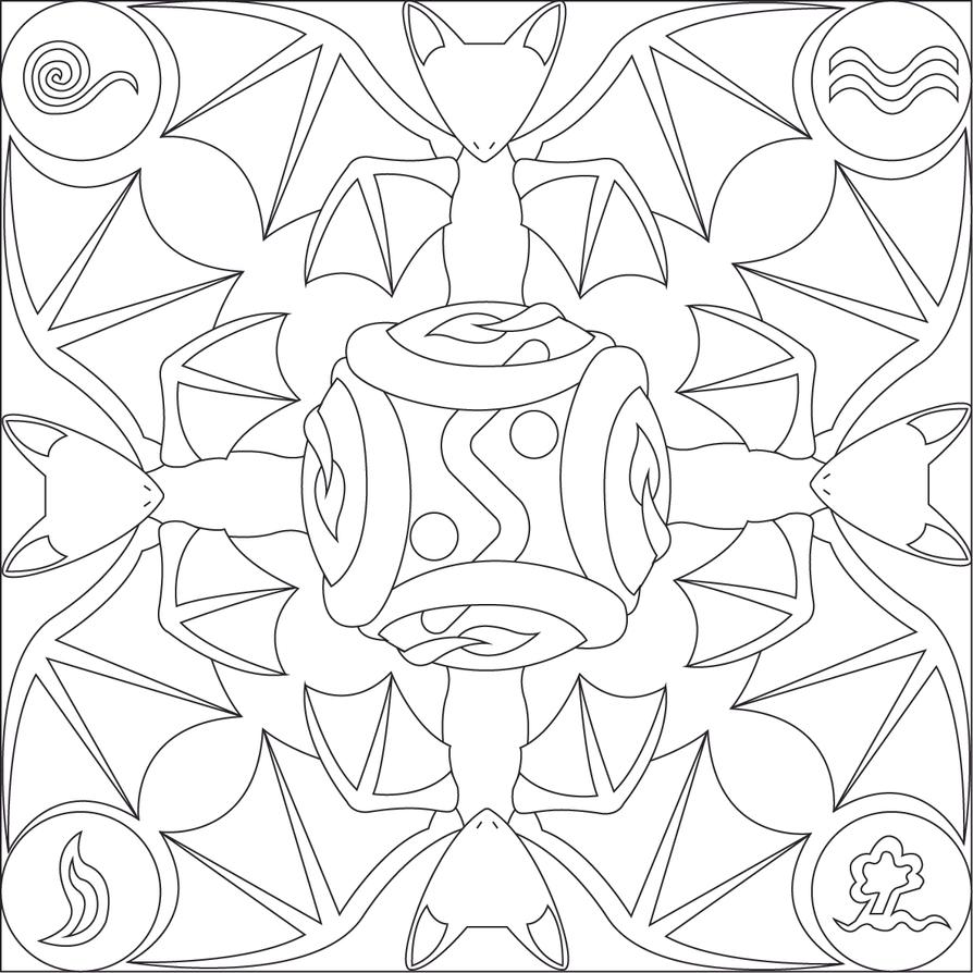 Dragon mandala by frozen heart 3 on deviantart - Mandala dragon ...