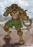 Thaiger fighter